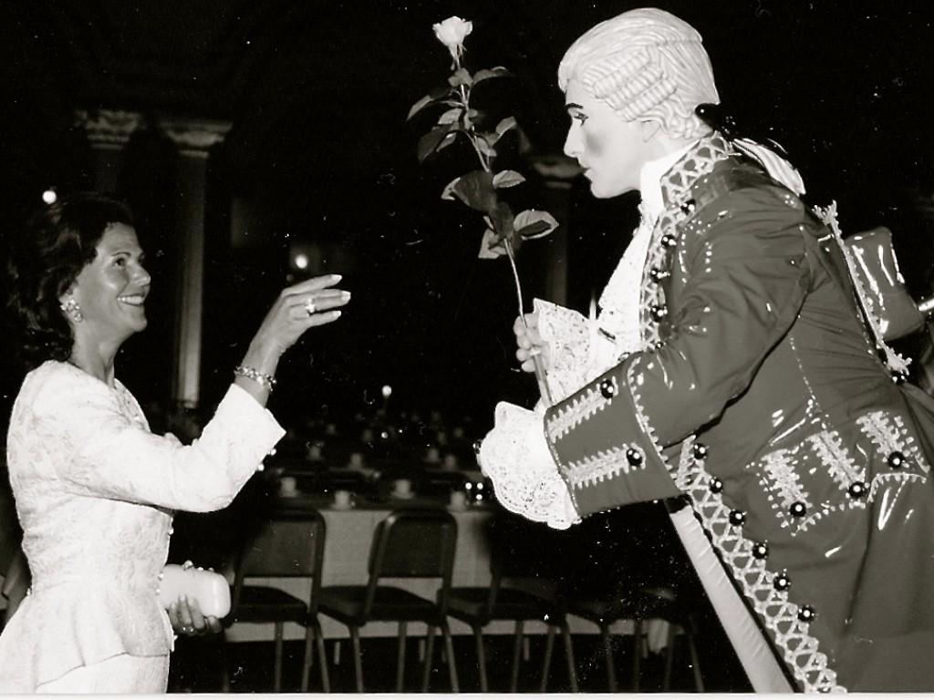 Drottning Silvia & Välkomstshow